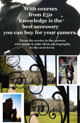 Photography lessons one 2 one with a photographer by Hartley Wintney Photography