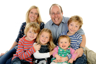 Family Portraits in Hartley Wintney Photography