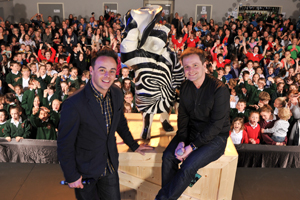 Ant and Dec by Frimley Photo
