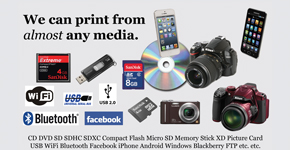 At Alton Photo we can print from almost any media