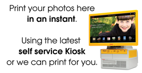Kodak self service kiosk by Farnborough Photo