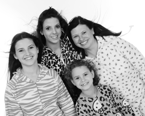Photos in your onesies for party photo shoots at Alton Photo