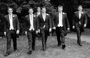 Wedding photography cool groomsmen photos
