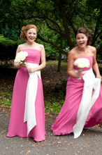 Wedding photography fun bridesmaids