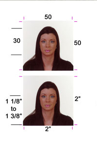 Passport Photos while you wait, in our shop at Captured